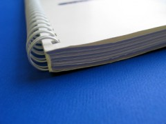 image of spiral bound book