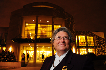Dana Rooks, Dean of UH Libraries