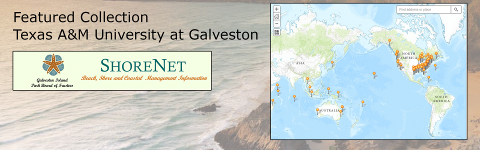Texas A&M Galveston ShoreNet collection