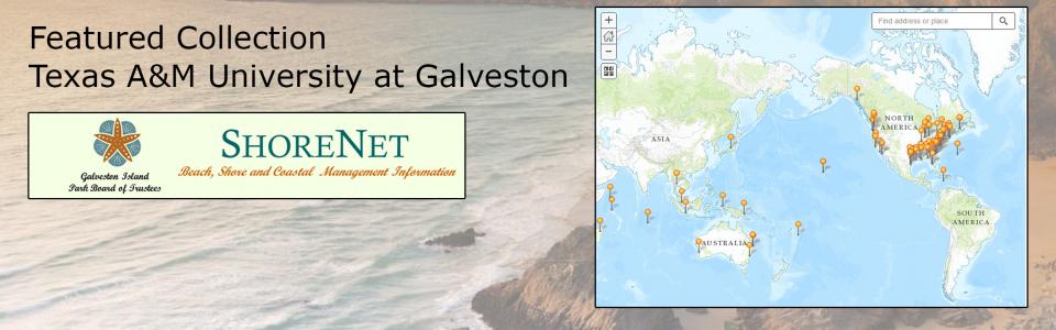 Texas A&M Galveston ShoreNet collection