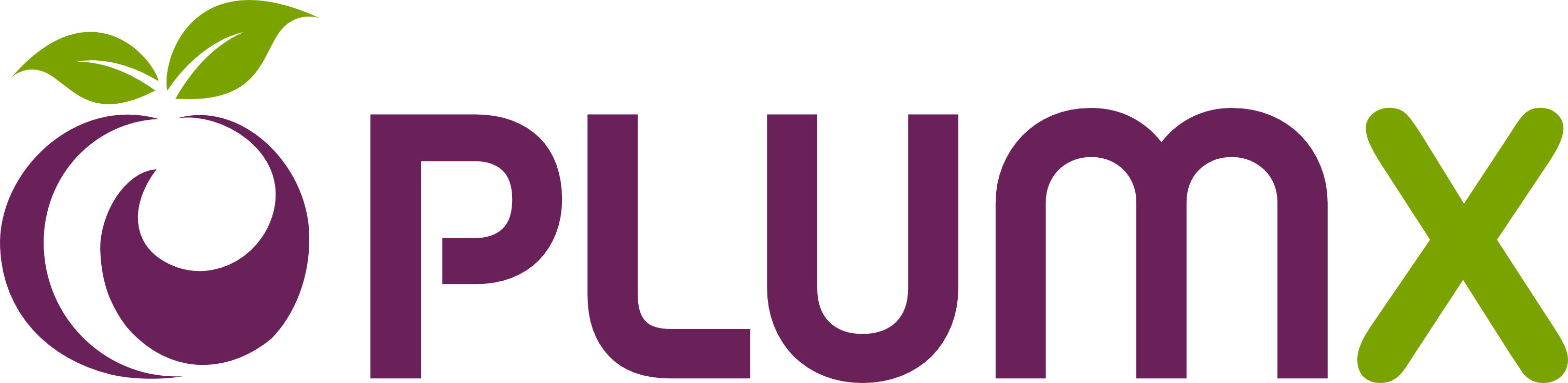 Plum X logo