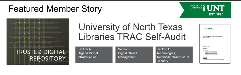 UNT Libraries TRAC Self-Audit